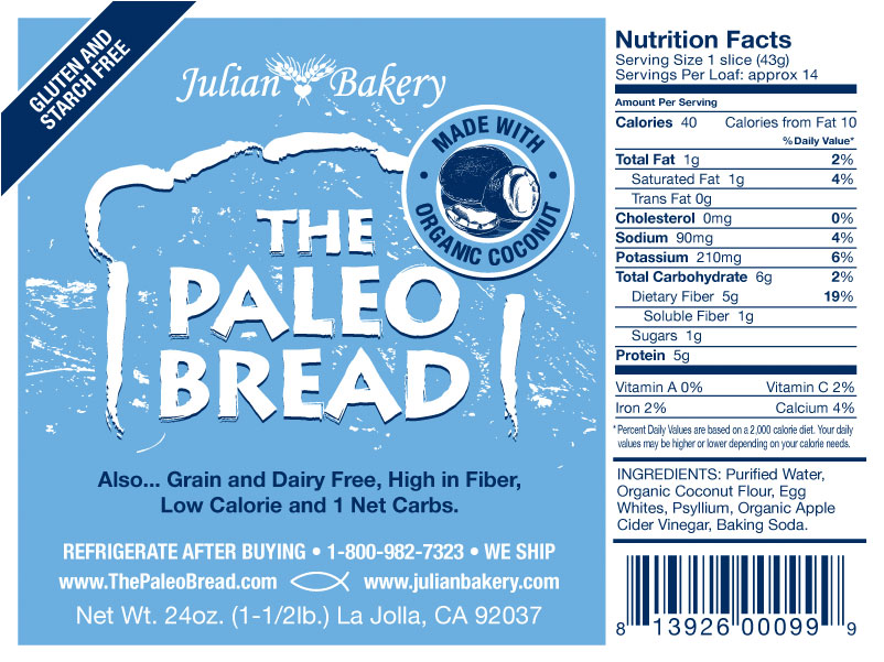paleo brood in amerika